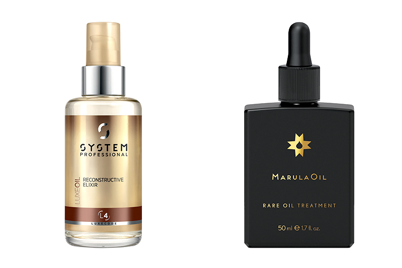LuxeOil L4 от  System Professional; Marula Rare Oil Treatment Light от Paul Mitchell