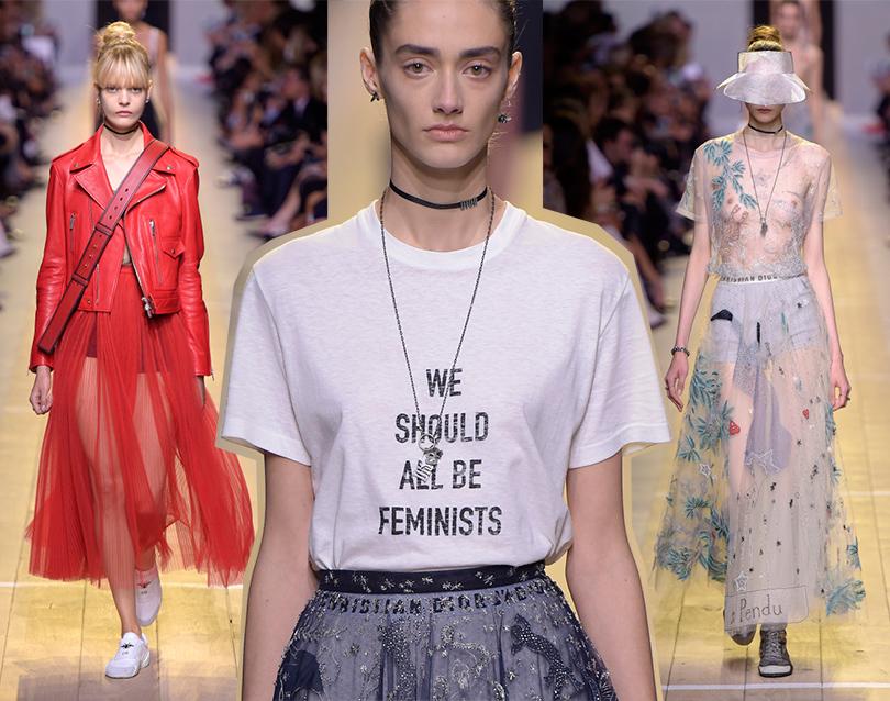 Мода и бизнес  война поколений. Почему модная индустрия делает ставку на  миллениалов  Dior. Dior, весна-лето 2017 d56f34013fd