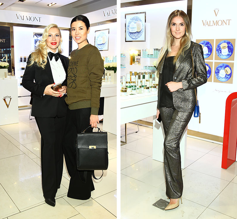 BeautyShopping: в ЦУМе открыли корнер Valmont. Екатерина Одинцова и Анна Ивченко. Алина Топалова