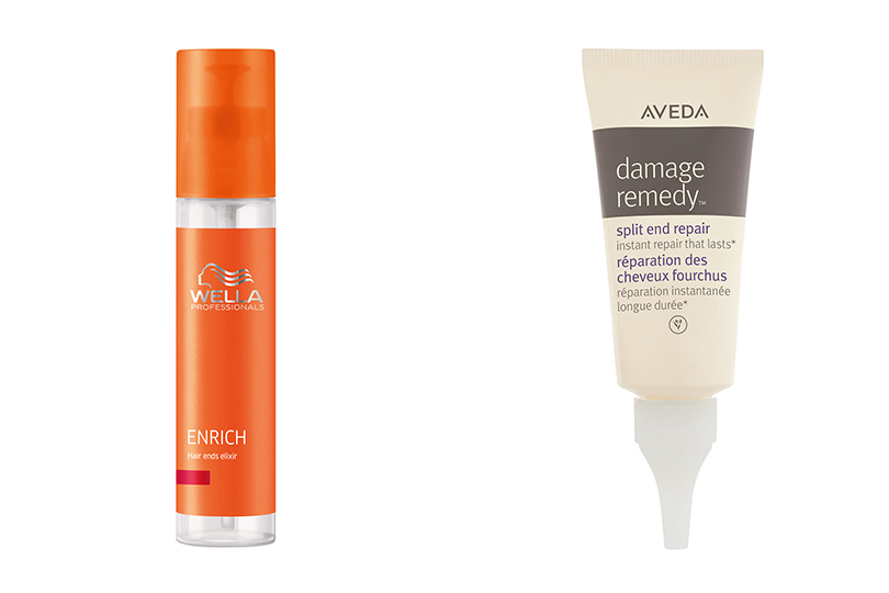 Enrich от Wella Professionals; Damage Remedy Split End Repair от Aveda