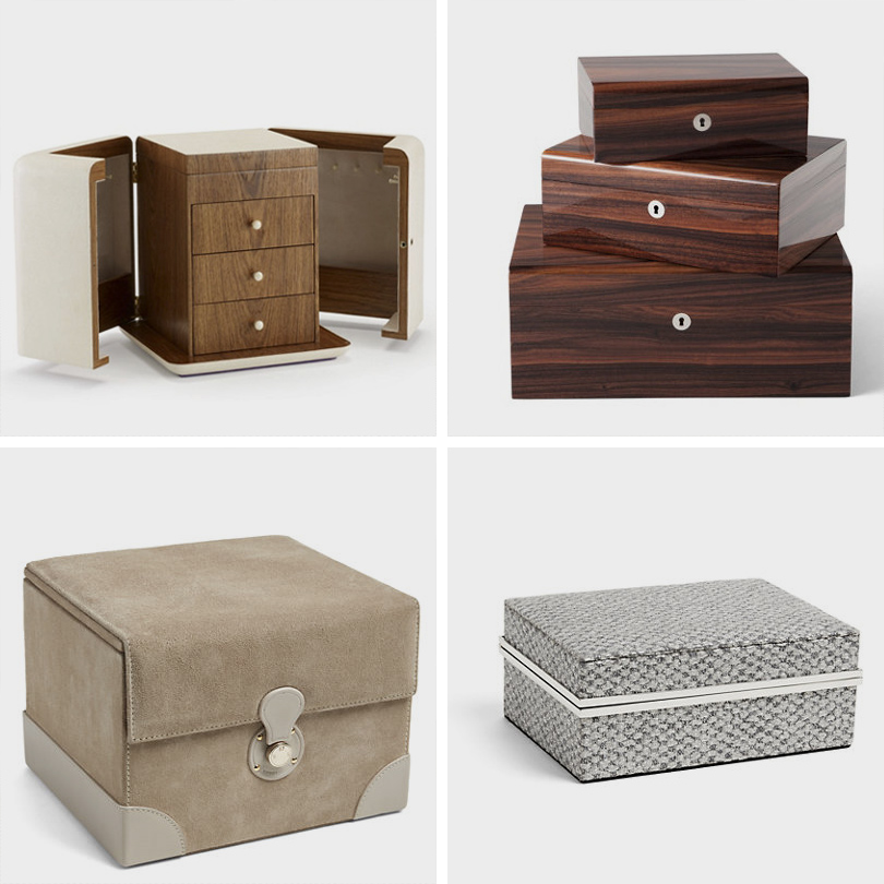 Дизайн & Декор: стильная и удобная гардеробная — как ее организовать? Кейсы для украшений Ralph Lauren Home