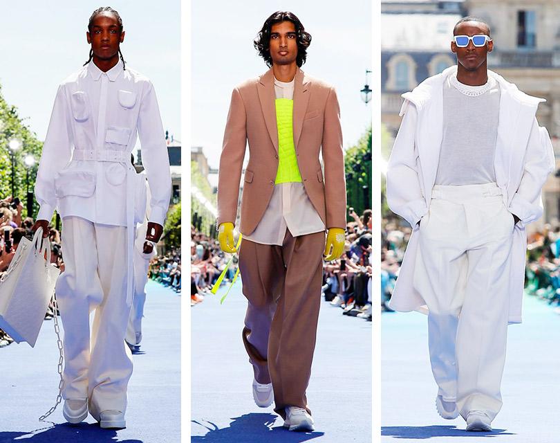 ace8e5f27cd Дебютный мужской показ Вирджила Абло для Louis Vuitton   Posta ...