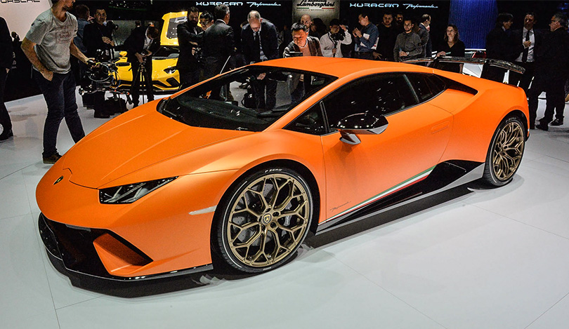 Cars with Jan Coomans: new at the 2017 Geneva Motor Show. Lamborghini Huracan Performante