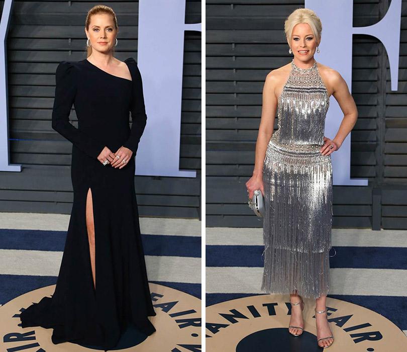 12473c09756 Самые красивые платья с афтепати «Оскара» — вечеринки Vanity Fair. Эми  Адамс.