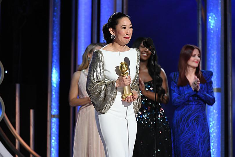 «Золотой глобус-2019»: лучшие образы ковровой дорожки и победители церемонии. Сандра О («Убивая Еву»)