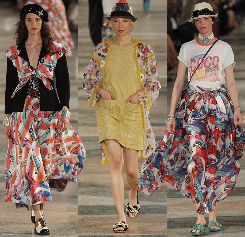 7ea9e3ef775 Style Notes  модная революция Карла Лагерфельда. Показ круизной коллекции  Chanel на Кубе