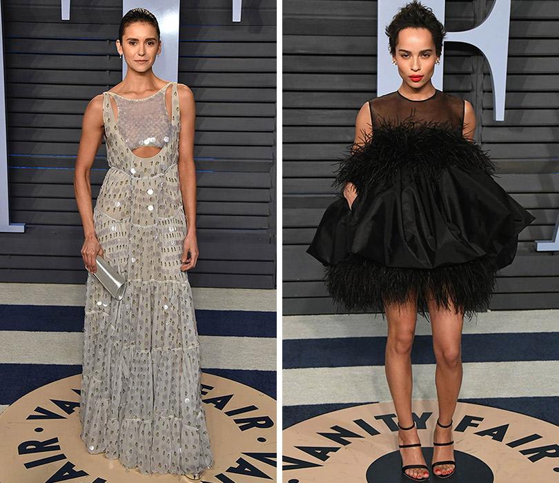 8ff927f168a Самые красивые платья с афтепати «Оскара» — вечеринки Vanity Fair. Нина  Добрев.