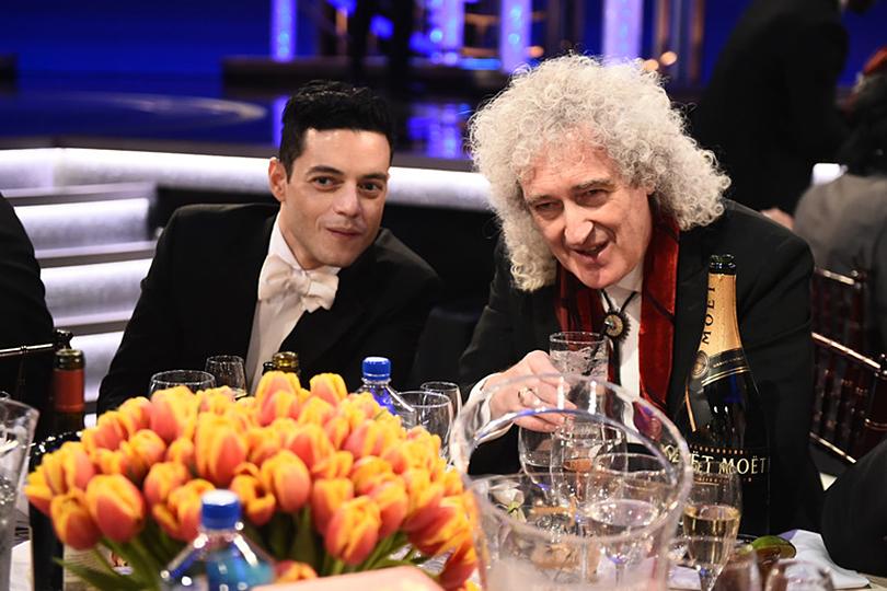 «Золотой глобус-2019»: лучшие образы ковровой дорожки и победители церемонии. Рами Малек и Брайан Мэй