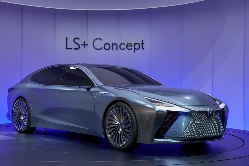 Cars with Jan Coomans. Tokyo Motor Show — the latest from the land of Godzilla. Lexus LS+