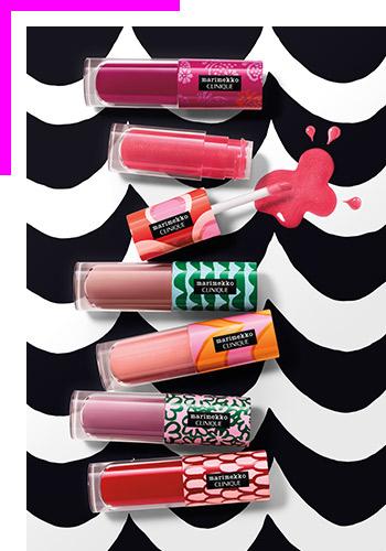Успейте попробовать икупить лимитированные блески для губ Clinique изколлекции Marimekko for Clinique