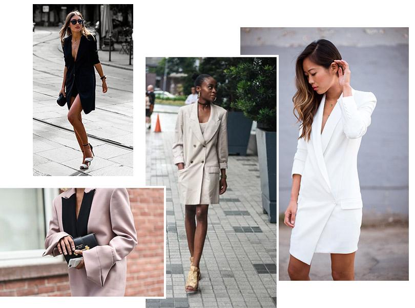 0b914ddc99d Как это носить  три идеи на разный бюджет с платьем-блейзером ...