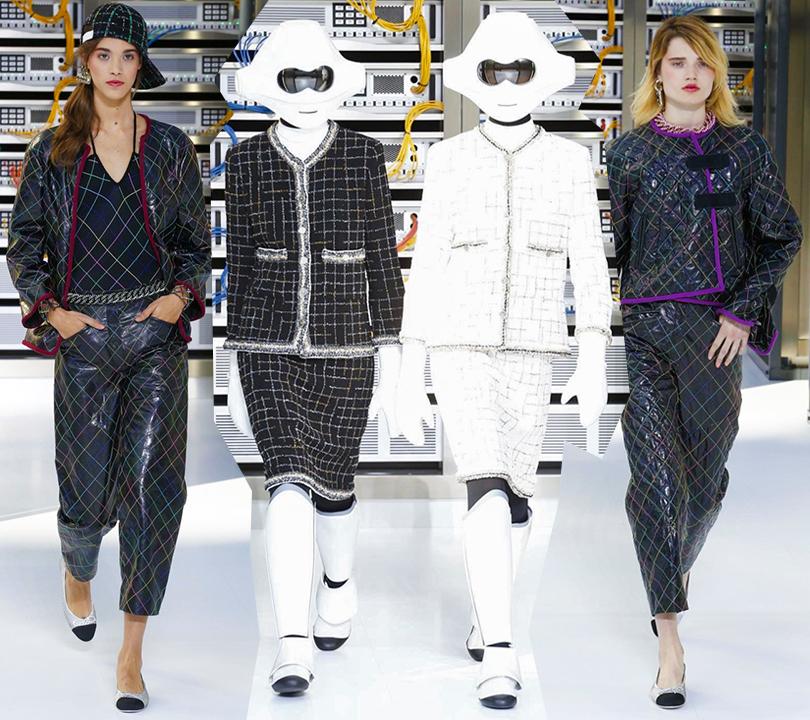 d36baaf80602 Style Notes  взгляд в будущее. Показ Chanel на Неделе моды в Париже ...