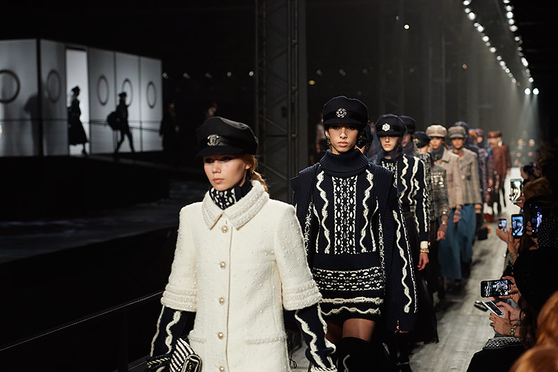 Показ Chanel Métiers d'art Paris — Hamburg в Москве