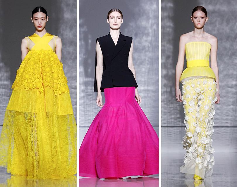 С чистого листа  показ Givenchy Couture на Неделе высокой моды в Париже ffda05965b8