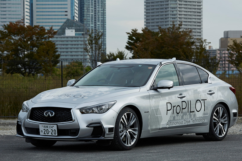Cars with Jan Coomans. Tokyo Motor Show — the latest from the land of Godzilla. Infiniti Q50 ProPilot