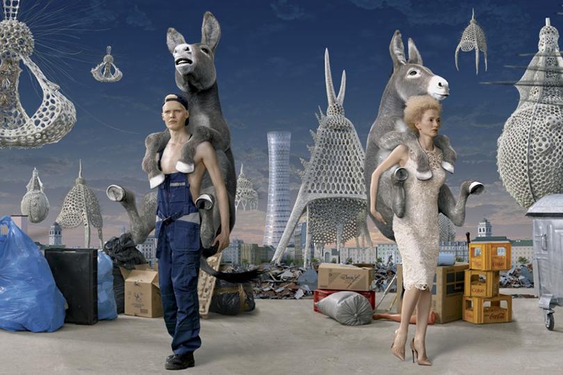 Арт-сцена: кто вошел втоп самых успешных современных российских художников. AES+F.Inverso Mundus.2015