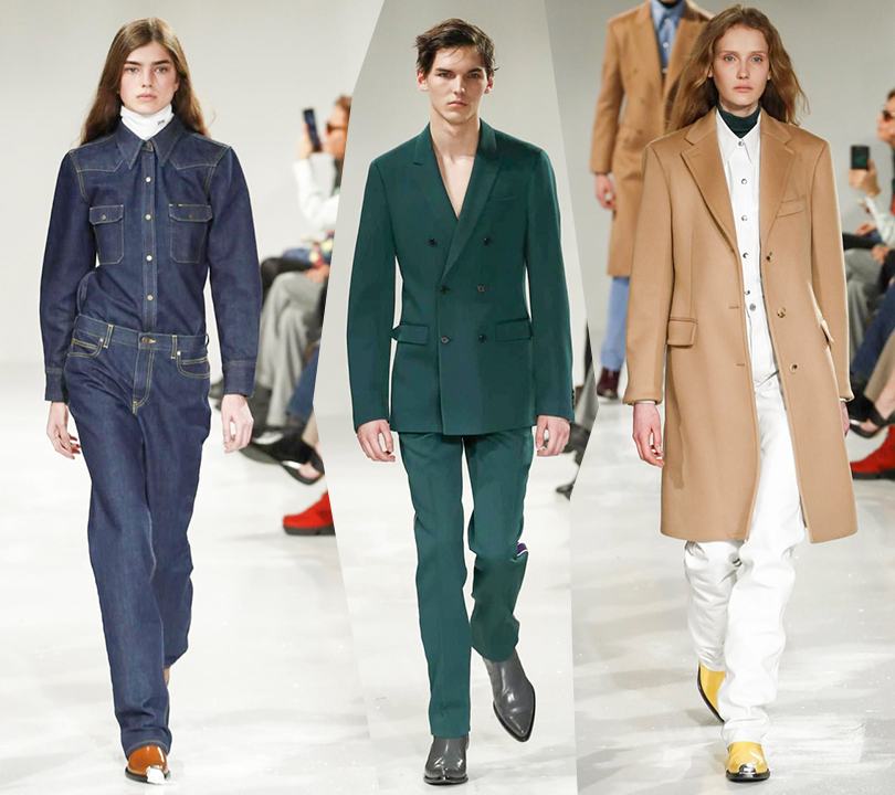Style Notes  первая коллекция Рафа Симонса для Calvin Klein   Posta ... 22770f872c2