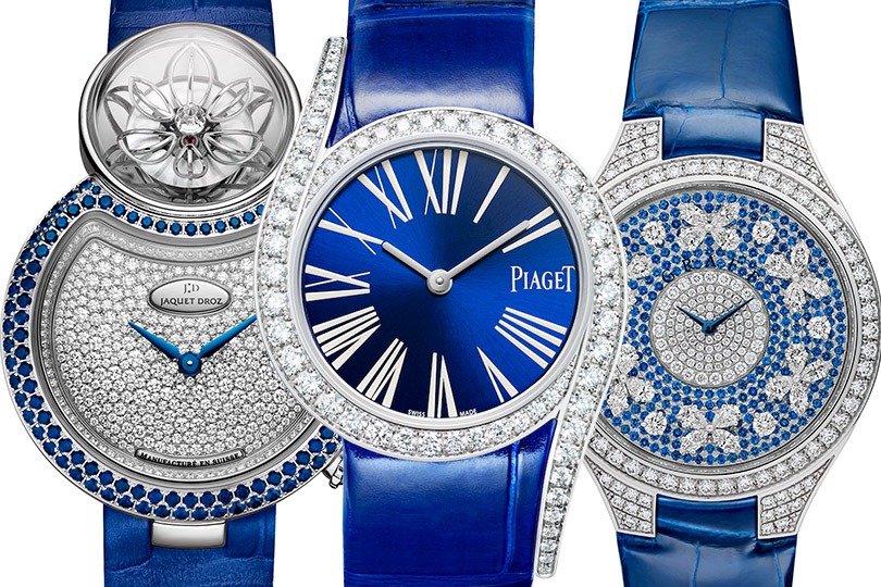 Jaquet-Droz Lady 8 Flower, Piaget Limelight Gala, Graff