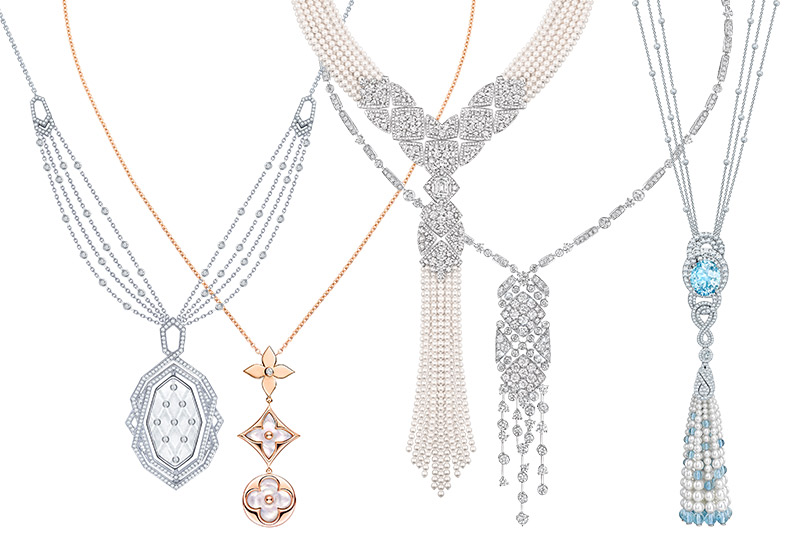 Garrard, Louis Vuitton Blossom, Chanel Signature de Perles, Chanel Signature Surpiquée, Garrard
