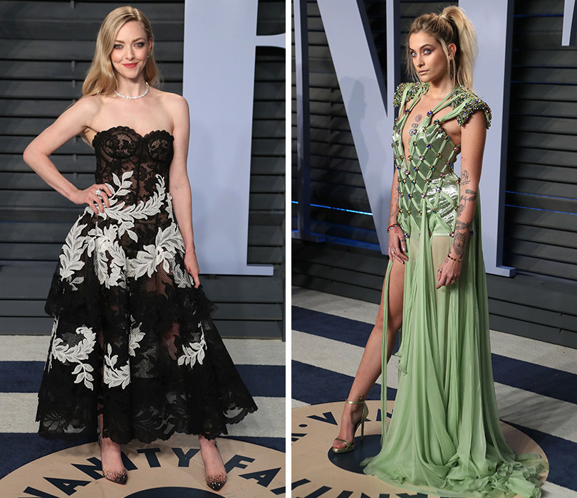19ce4cf1a55 Самые красивые платья с афтепати «Оскара» — вечеринки Vanity Fair. Аманда  Сэйфрид.