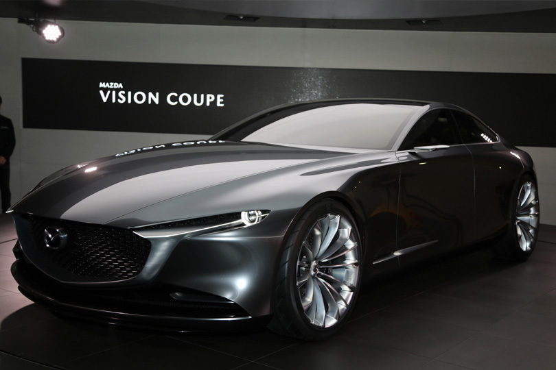 Cars with Jan Coomans. Tokyo Motor Show — the latest from the land of Godzilla. Mazda Vision Coupe