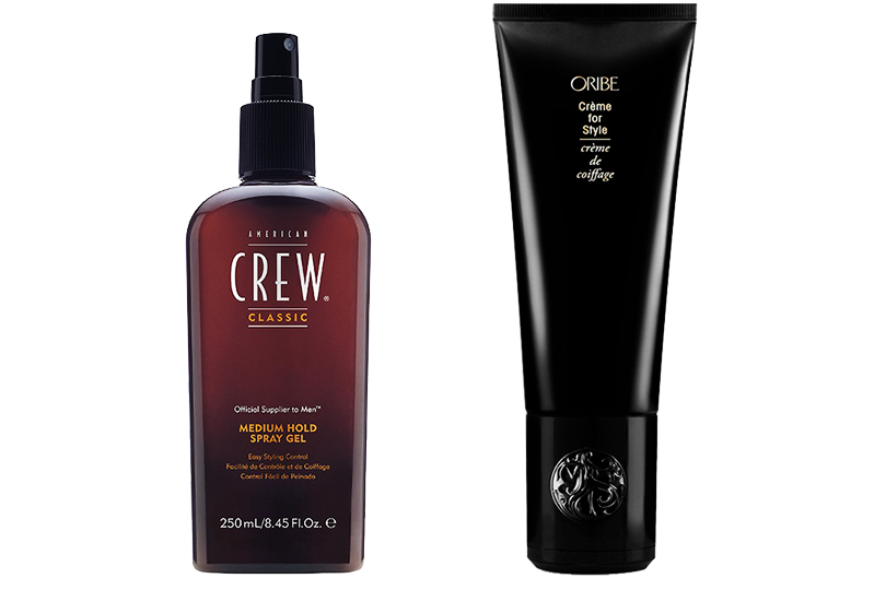 Крем для укладки Oribe Crème for Style и спрей для волос средней фиксации American Crew Classic Medium Hold Spray