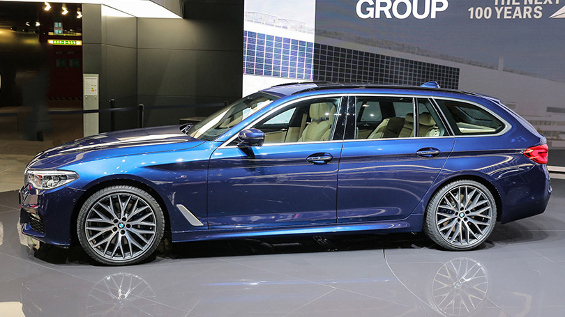 Cars with Jan Coomans: new at the 2017 Geneva Motor Show. BMW 5 Touring