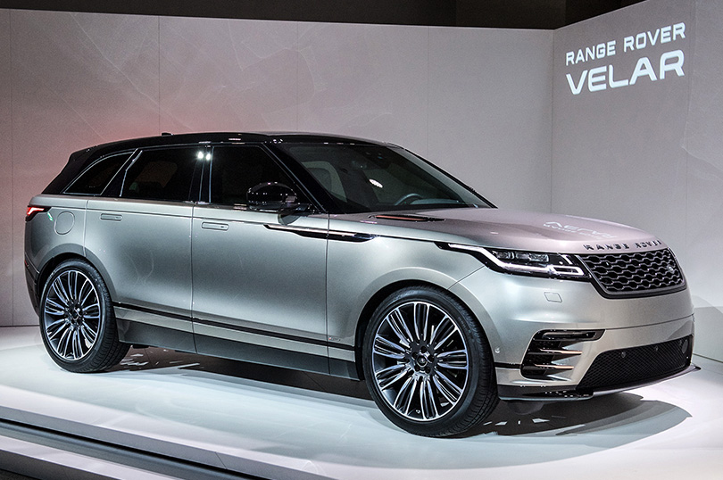 Cars with Jan Coomans: new at the 2017 Geneva Motor Show. Range Rover Velar