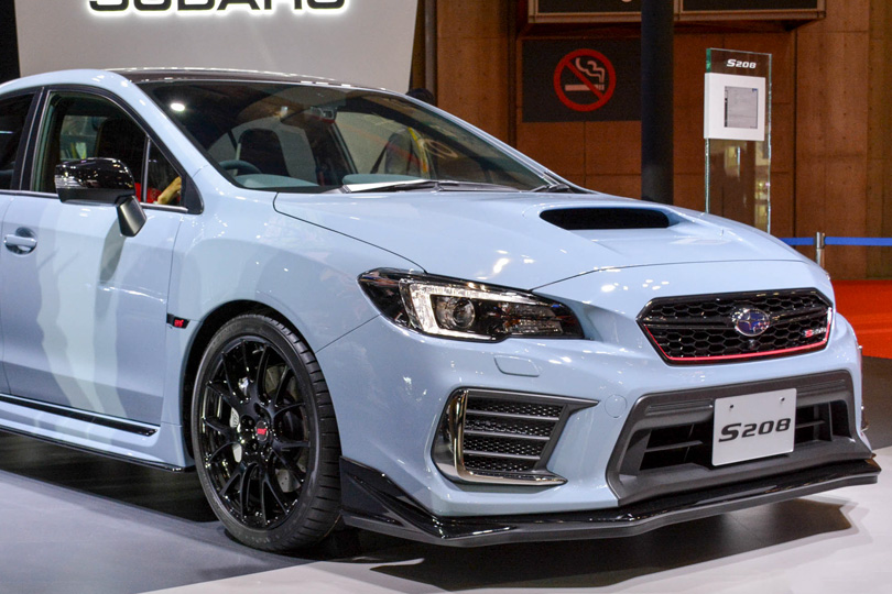 Cars with Jan Coomans. Tokyo Motor Show — the latest from the land of Godzilla. Subaru S208