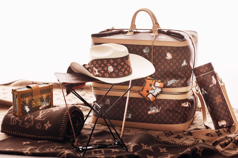 Shoes   Bags Blog  Louis Vuitton и Грейс Коддингтон представили  лимитированную коллекцию аксессуаров с… e7f03ad0070