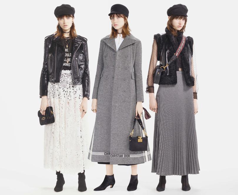 581d1b8d3067 Style Notes  нео-богемный шик от Марии Грации Кьюри в осенней коллекции Dior