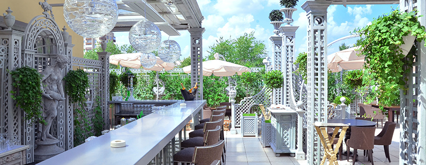 Летние веранды лучших московских ресторанов