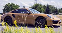 Новый Porsche 911 Turbo S Exclusive Series: за рулем и за одним столом с его создателями