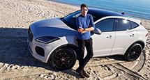 Авто с Яном Коомансом: тест-драйв нового Jaguar E-Pace на знаменитых дорогах Корсики