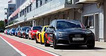 Целый уикенд за рулем премиального автомобиля Audi в рамках программы Audi Ultimate Experience!