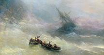 Идея на уикенд: посетить выставку Ивана Айвазовского в Третьяковской галерее