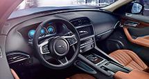 Авто в большом городе. 1-я часть: Jaguar F-Pace — от дизайна до двигателя