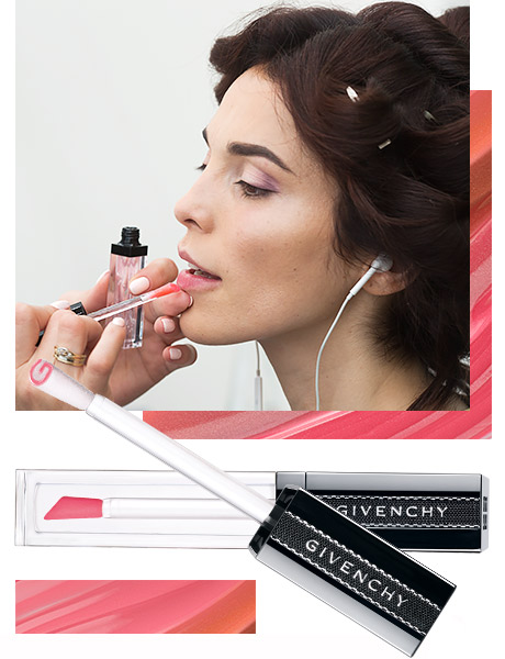 Сати Казанова и GIVENCHY Gloss Interdit Vinyl Блеск для губ