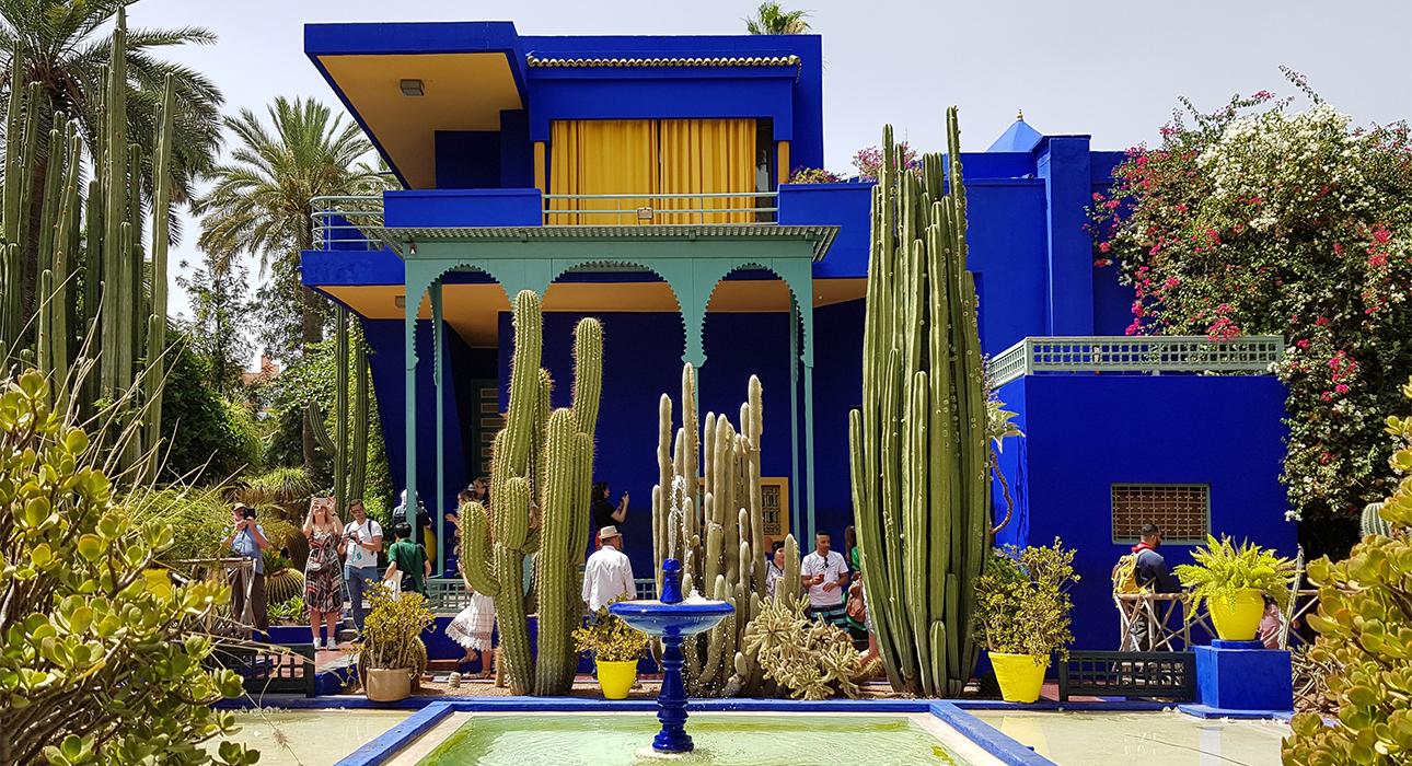 Дом и музей Ива Сен-Лорана