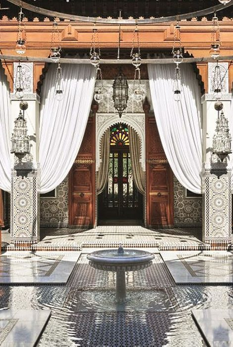 Марракеш — дом-музей Сержа Лютанса, наследие Ива Сен-Лорана и королевский отдых в Royal Mansour Marrakech