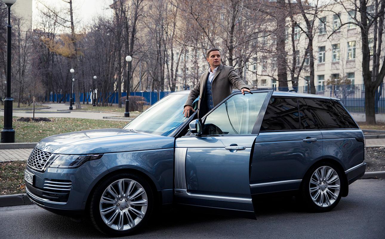 Андрей Царук и Range Rover
