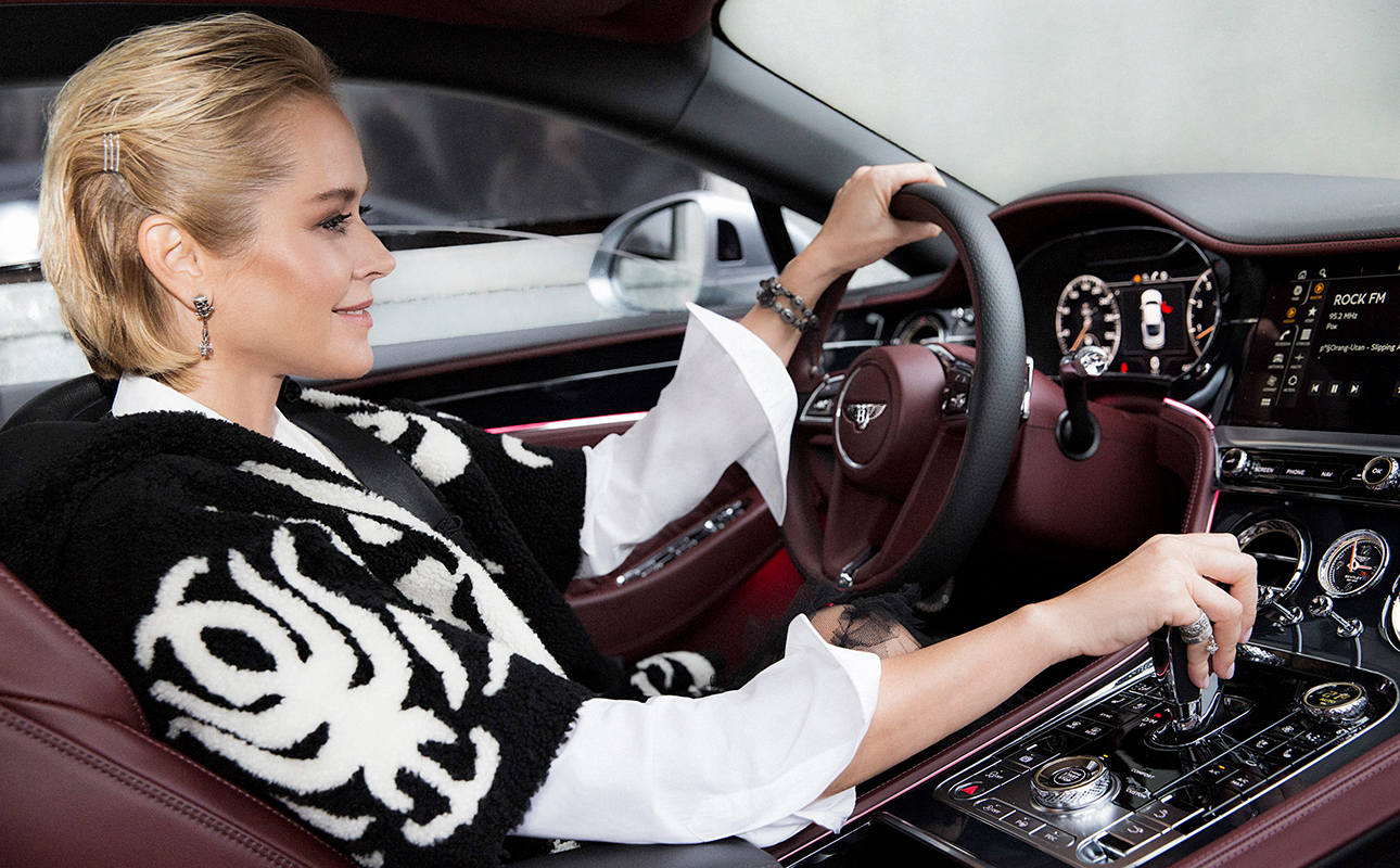 Анна Лепс и Bentley Continental GT