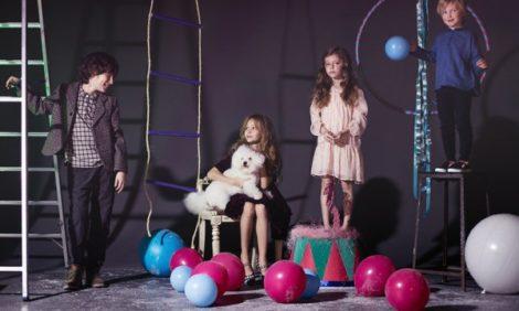 Posta Kids Club: на арене цирка — специальная новогодняя съемка Posta-Magazine