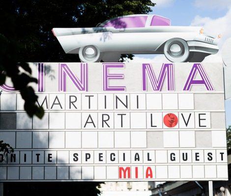 Проект: Вечеринка в честь финалистов киноконкурса Martini Art Love Cinema