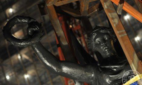 Кадр недели: Крылатая Ника вернулась на Триумфальную арку