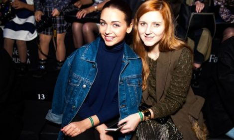 Светская хроника: гости модных показов Mercedes-Benz Fashion Week Russia