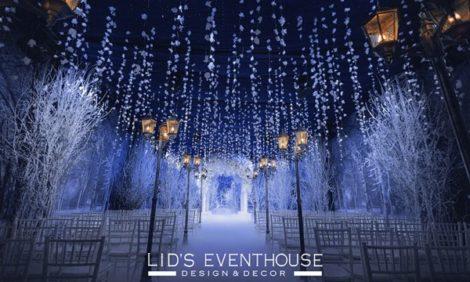 Дизайн & Декор с Лидией Симоновой: зимняя свадьба