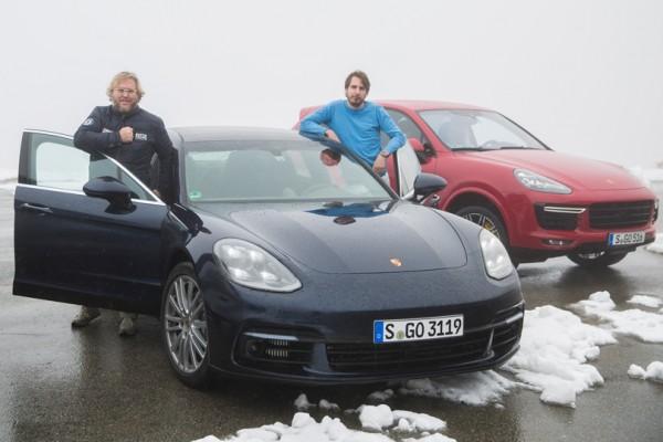 Авто с Яном Коомансом: Porsche Panamera 4S и путь через Швейцарские Альпы