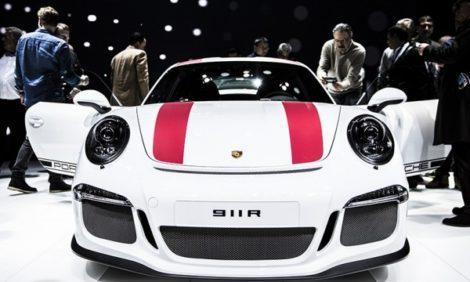 Авто с Яном Коомансом: эксклюзив с Женевского автосалона-2016 — премьера Porsche 911R