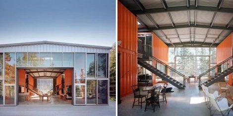 Тема: Использованные контейнеры — архитектура будущего?